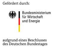 Förderlogo für Forschungsprojekte des Bundeministeriums für Wirtschaft und Energie