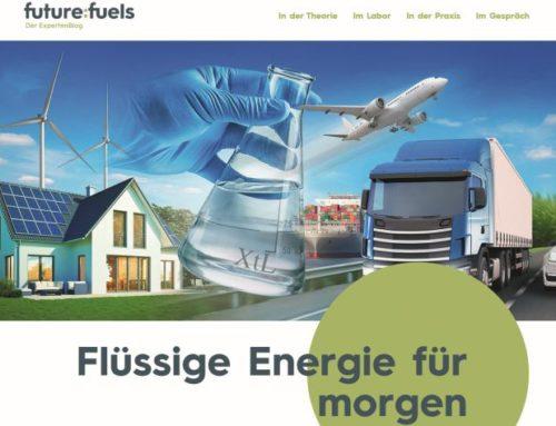 Klimaschonende Kraft- und Brennstoffe